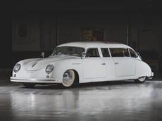 Chiếc limousine Porsche 356 1959 độc nhất vô nhị này vốn được chế tạo làm xe đám cưới