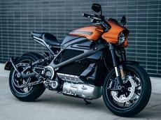 Choáng với âm thanh như động cơ phản lực của mô tô điện Harley-Davidson LiveWire