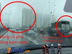Thực hư tác dụng của hoá chất chống bám nước giá rẻ cho kính xe hơi