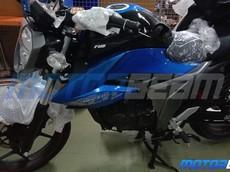 Naked bike Suzuki Gixxer 155 lộ ảnh về đại lý trước ngày ra mắt