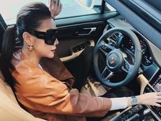 Từng làm đại sứ cho cả Mercedes-Benz và Audi nhưng khi mua xe Thanh Hằng lại chọn Porsche Macan 2019