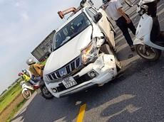 Bắc Giang: Xe máy đối đầu xe bán tải Mitsubishi Triton, một người tử vong tại chỗ