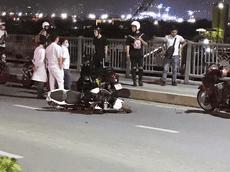 Nam thanh niên đi phân khối lớn tông chết cụ già nhặt ve chai trên cầu Thủ Thiêm