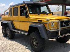 """""""Quái vật 6 chân"""" Mercedes-Benz G63 AMG 6x6 đầu tiên về Việt Nam, ước tính hơn 65 tỷ đồng"""