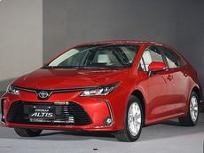 Toyota Corolla Altis 2019 tại Thái Lan có 6 phiên bản, giá từ 526 triệu đồng