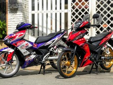 Lạ lẫm với bản độ Racing Boy từ Honda Winner X của tay đua chuyên nghiệp người Việt