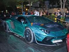 Đánh giá nhanh bộ áo của siêu xe Lamborghini Aventador Limited Edition 50 được thực hiện trong 24 giờ