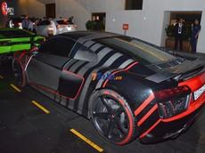 """Siêu xe Audi R8 V10 PLus xuất hiện trong đám cưới của Cường """"Đô-la"""""""