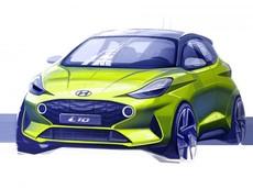 Hyundai Grand i10 2019 lộ diện với ngoại hình táo bạo và thể thao hơn