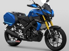 Phải chăng đây là thiết kế của Yamaha MT-15 Tracer hoàn toàn mới