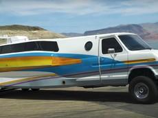 Boaterhome - Phương tiện lai tạo xe RV và du thuyền cực kỳ lạ mắt