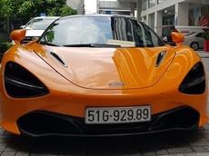 """Siêu xe McLaren 720S màu cam này khiến không ít người lầm tưởng là xe của Cường """"Đô-la"""""""