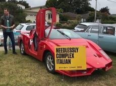 """Đây là siêu xe Ferrari Enzo """"giả"""" mà mang tới nụ cười giải trí cho người nhìn"""