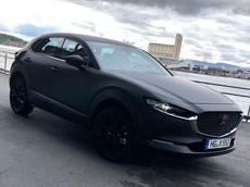Mẫu xe điện đầu tiên của Mazda bị phát hiện thử nghiệm ngoài phố, trông giống CX-5