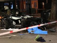 Cặp đôi xe sang Jaguar F-Type và Audi A5 đua với nhau, gây tai nạn liên hoàn