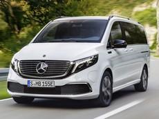 Xe đa dụng Mercedes-Benz EQV có khả năng vận hành 405 km