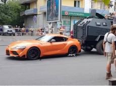 """Toyota Supra 2020 xuất hiện trên phim trường """"Fast and Furious 9"""", có thể được lái bởi John Cena"""