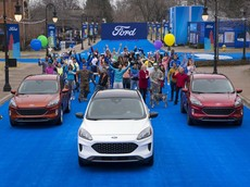SUV cỡ C Ford Escape 2020 rục rịch về Việt Nam có giá hấp dẫn tại Mỹ