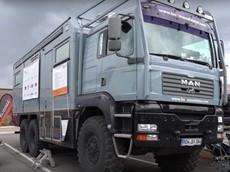 Chiếc xe 6x6 nặng 26 tấn này là phương tiện off-road kết hợp cắm trại như trong mơ