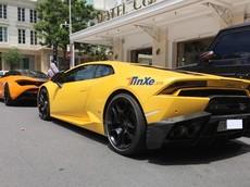 Lamborghini Huracan nổi tiếng nhất Việt Nam bất ngờ tái xuất Sài thành họp mặt cùng dàn siêu xe gần trăm tỷ đồng