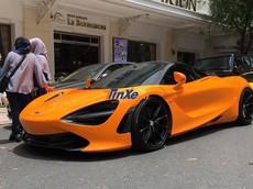 """Cường """"Đô-la"""" chi hơn 300 triệu đồng chỉ để làm đẹp cho """"dàn chân"""" của siêu xe McLaren 720S"""