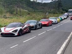 """Cường """"Đô-la"""" cùng đoàn siêu xe Car Passion """"phượt"""" lên Đà Lạt và Nha Trang"""