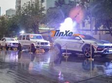 """Soi kỹ đoàn xe """"khủng"""" hơn 100 tỷ đồng được Minh """"Nhựa"""" đem ra trưng bày tại đám cưới con gái"""