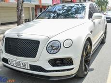 """Cận cảnh SUV siêu sang Bentley Bentayga của mẹ ruột con gái Minh """"Nhựa"""""""