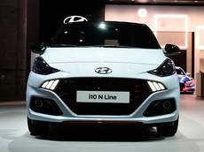 """Ngắm hình ảnh """"bằng xương, bằng thịt"""" của xe đô thị Hyundai i10 N Line 2020"""