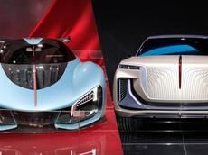 Thương hiệu Hồng Kỳ xuất hiện ở Frankfurt 2019 với một siêu xe 1.400 mã lực và một SUV trông như Rolls-Royce Cullinan