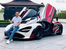 """Cường """"Đô-la"""" đích thân lái McLaren 720S từ Bangkok xuống Pattaya để khảo sát cho Asean Rally 2020"""