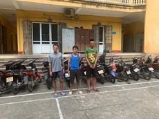 Thanh Hóa: Gây ra hơn 20 vụ trộm xe máy, 3 đối tượng bị tạm giữ