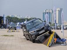 Subaru mang sự kiện lái thử đầy mạo hiểm đến với khách hàng Hà Nội