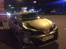 Video quay cảnh chiếc Toyota Vios của Chủ nhiệm UBKT Đảng ủy khối tông xe máy khiến 1 người tử vong tại Hà Tĩnh