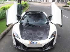 Siêu xe mui trần McLaren 650S Spider đầu tiên tại Việt Nam độ nắp capô của McLaren P1