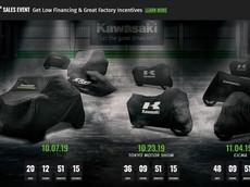 Hàng loạt xe mới của Kawasaki sẽ ra mắt trong tháng 10 và tháng 11
