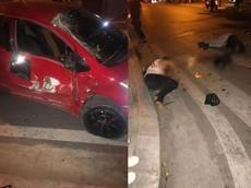 Hà Nội: Xe máy tông móp sườn ô tô lúc 2 giờ sáng, thiếu niên 16 tuổi tử vong tại chỗ