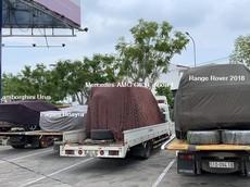"""Minh """"Nhựa"""" lần đầu tiên vận chuyển Pagani Huayra cùng 3 chiếc SUV """"khủng"""" ra tận Đà Nẵng"""