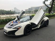 Đánh giá nhanh McLaren 650S Spider độ nắp capô McLaren P1 độc nhất Việt Nam