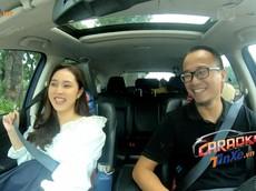 """[Car-aoke with Star] Ca sĩ Bảo Trâm - bà bầu dễ thương hát cực """"sung"""" trong ô tô"""