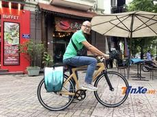 Xe đạp trợ lực điện làm từ cây tre giá hơn 18 triệu đồng của Startup Việt Nam có gì đặc biệt?