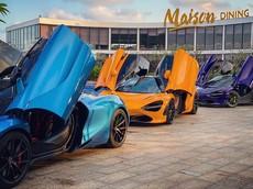 Dàn siêu xe tụ tập tại Long Hải, bộ ba McLaren 720S tung cánh mới là sự chú ý