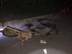 Quảng Trị: 2 xe máy tông nhau lúc rạng sáng, 4 thiếu niên tử vong