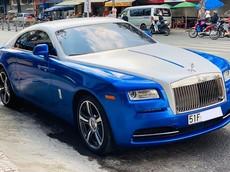 Bộ áo siêu chất trên Rolls-Royce Wraith của nhà giàu Việt đã được hoàn thành