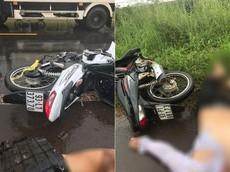 Bình Phước: Tông trực diện vào ô tô tải ở tốc độ cao, 2 thanh niên đi xe máy tử vong
