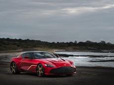 Diện kiến siêu xe Aston Martin DBS GT Zagato Special với nhiều chi tiết bằng vàng và sợi carbon