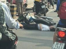 Hà Nội: Đâm vào trụ bê tông của cầu vượt Thái Hà, người đàn ông đi xe máy tử vong