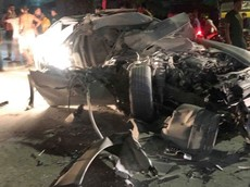 Vụ tai nạn này cho thấy Porsche Panamera S Hybrid rất đáng đồng tiền bát gạo về độ an toàn