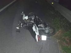 Đi xe máy ngược chiều trên cao tốc Pháp Vân - Cầu Giẽ, thanh niên bị ô tô tông tử vong