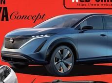 Thiết kế xe SUV điện của Nissan được hé lộ qua mãu concept Nissan Ariya